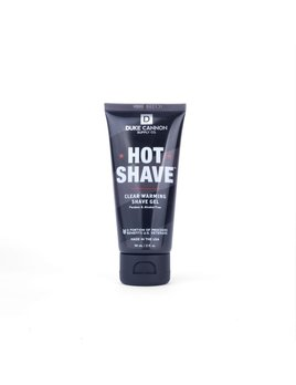 Duke Cannon Hot Shave Clear Warming Shave Gel - Travel Size