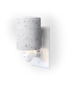 Happy Wax Outlet Warmer - White Terrazzo