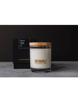 Roosevelt Supply Co. Cocktail Candle w/ Reusable Glass : Olympic