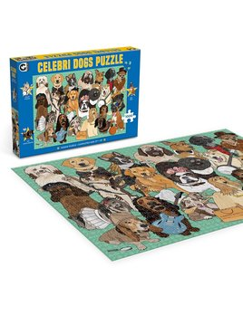 Ginger Fox Celebri Dogs Jigsaw Puzzle