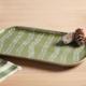 Mudpie Green Leaf Platter