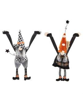 Mudpie Dangle Arm Halloween Gnomes