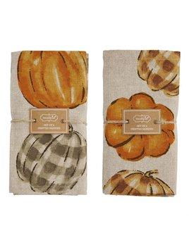 Mudpie Pumpkin Napkin Sets