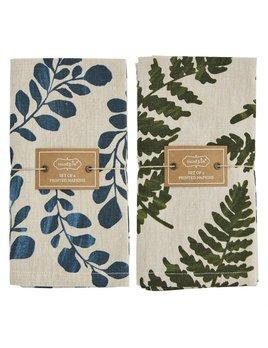 Mudpie Leaf Napkin Sets