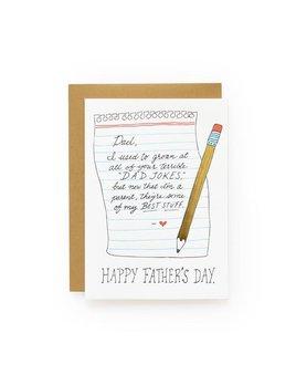 Wild Ink Press Dad Jokes Card