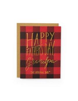 Wild Ink Press Grandpa Original Dad Card