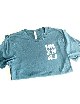 Charley & Hudson HBKN Short Sleeve Teal T-Shirt