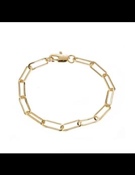 Maya J Paper Clip Bracelet