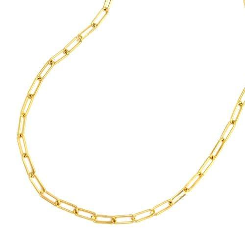 "Maya J 16"" Paper Clip Necklace"