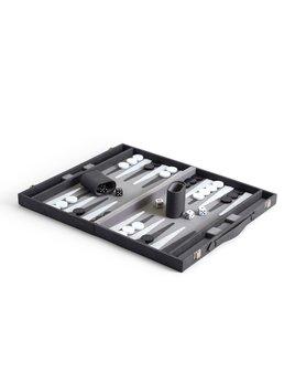 Two's Company Backgammon Set in Shagreen Case