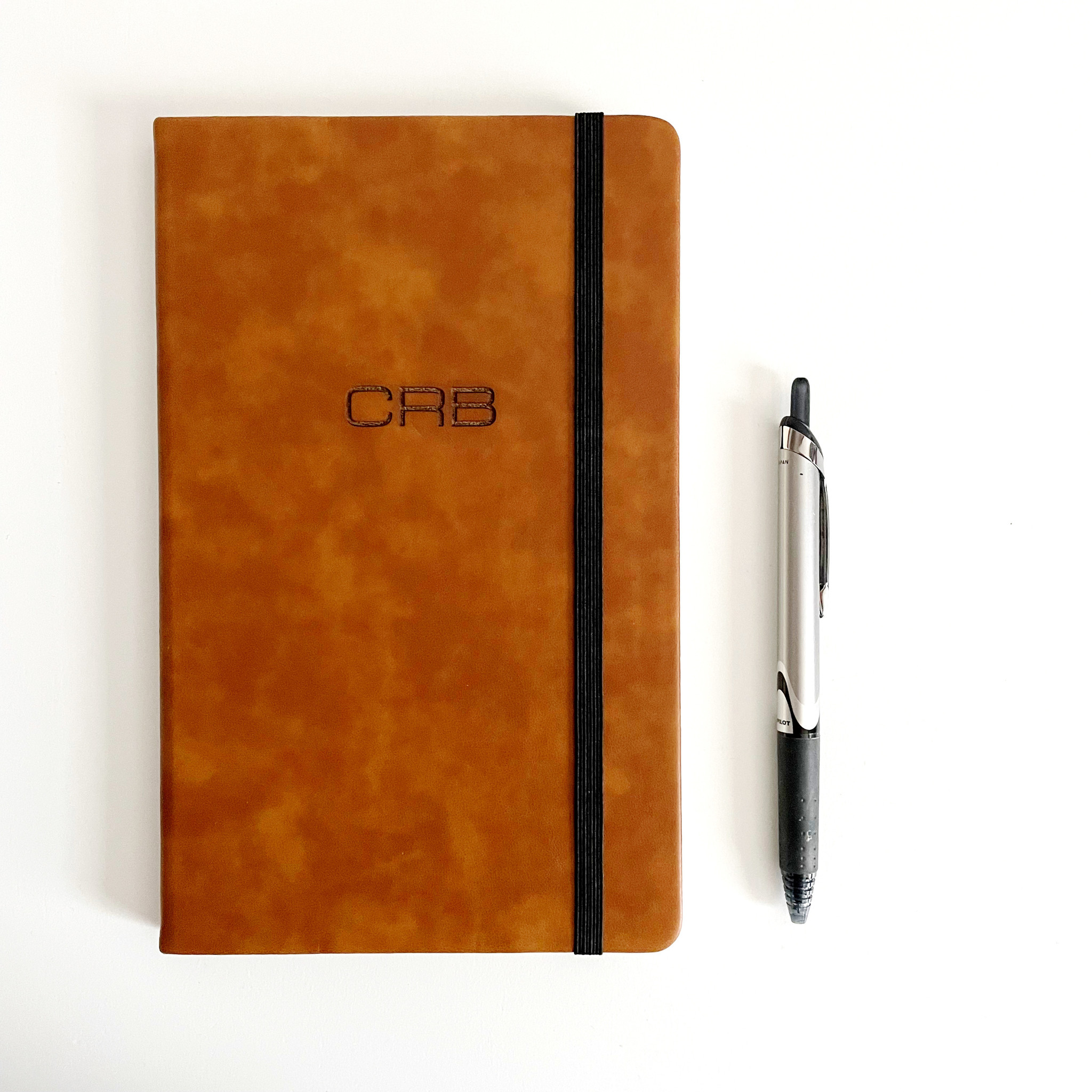 P Graham Dunn Personalized Notebook - Tan - Large