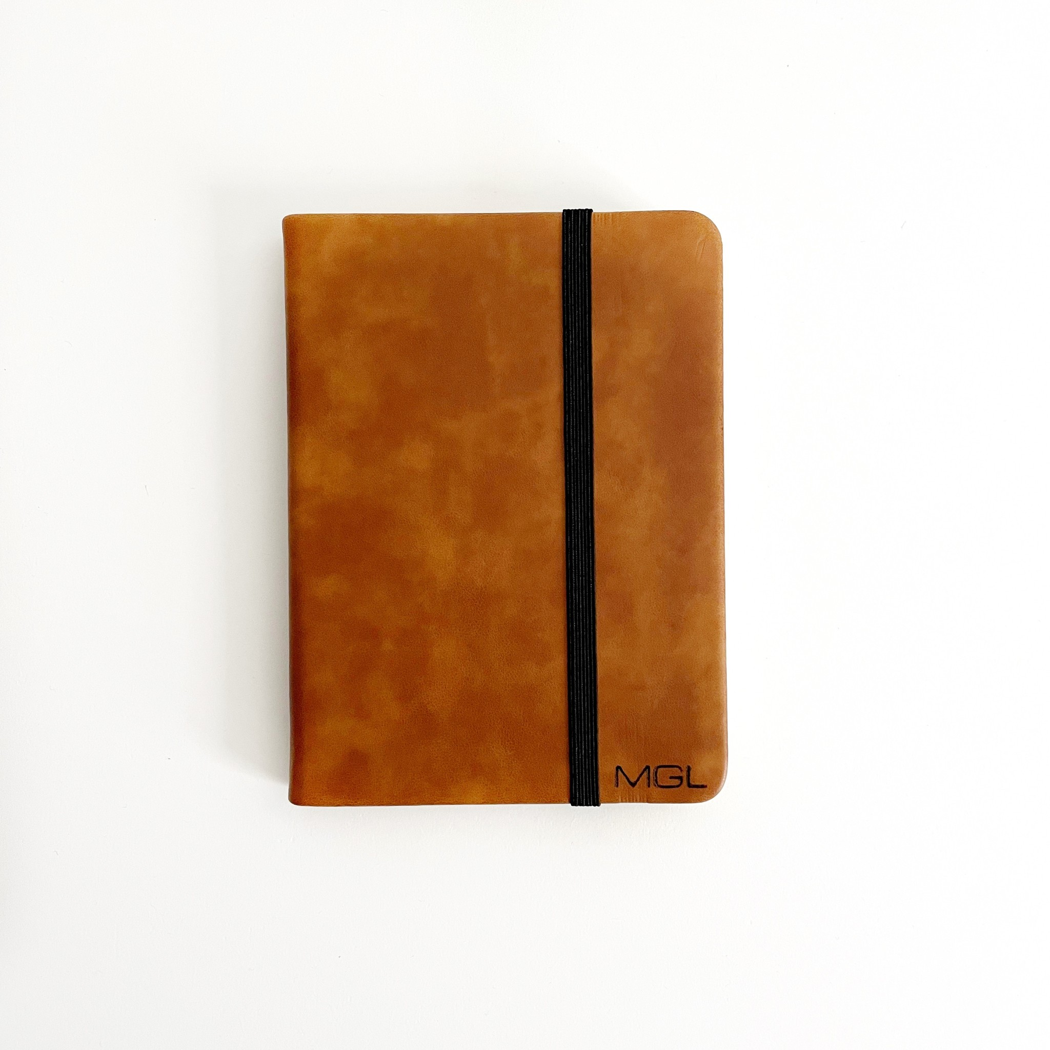 P Graham Dunn Personalized Notebook - Tan - Small