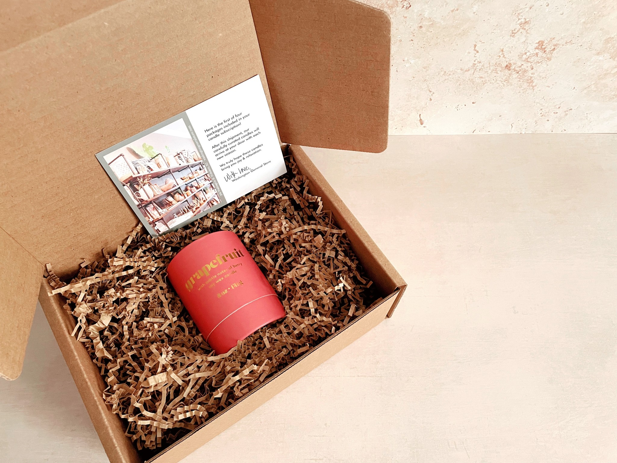 Candle Box Yearly Subscription