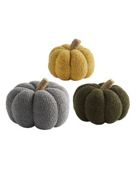 Mudpie Shearling Pumpkins