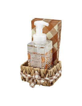 Mudpie Fall Soap & Guest Towel Basket