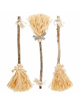 Mudpie Witch Broom Decor