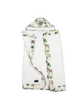 Bebe Au Lait Jungle Baby Hooded Towel