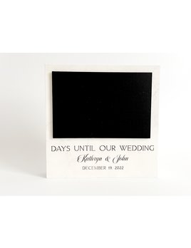 P Graham Dunn Personalized Message Block - Countdown