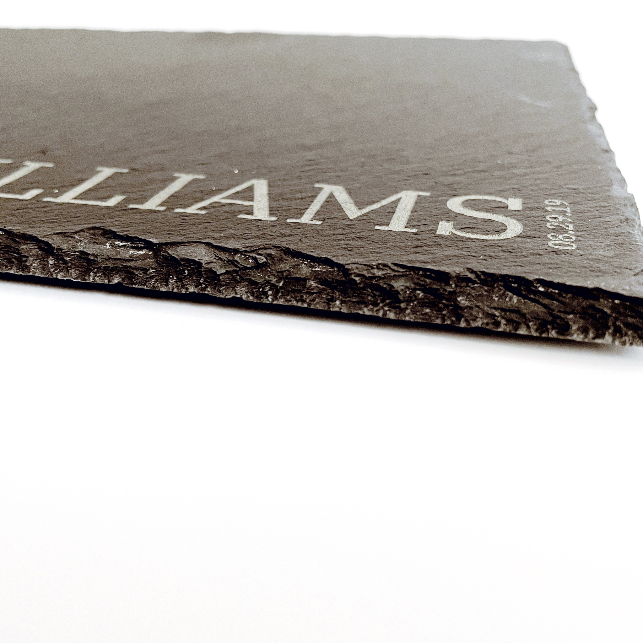P Graham Dunn Personalized Slate Cheese Board