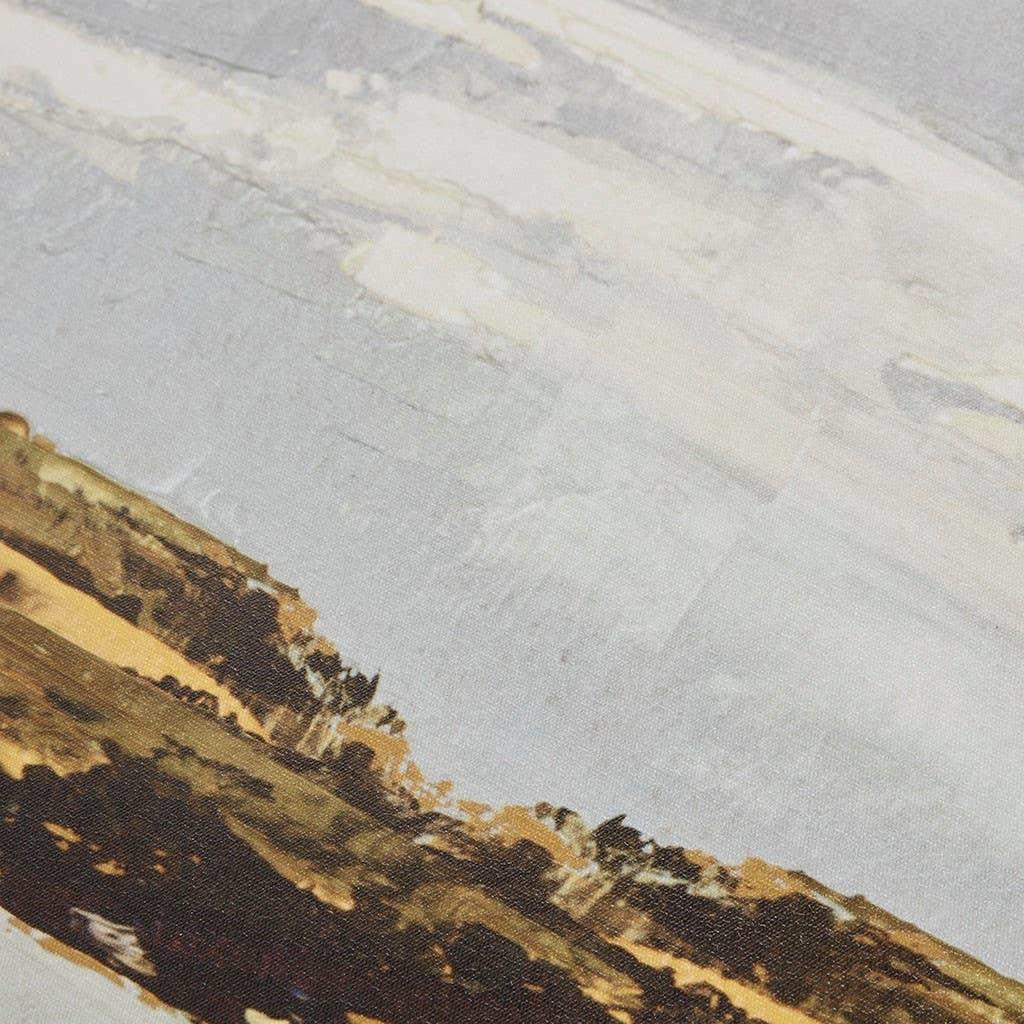 Olliix Foggy Morning Landscape Framed Wall Art Decor