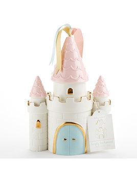 Baby Aspen Simply Enchanted Castle Ceramic Bank