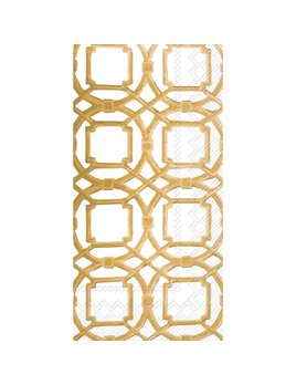 Boston International Courtyard Gold - Paper Guest Towel