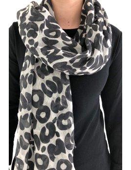 See Design Wool Scarf: Sake - Black