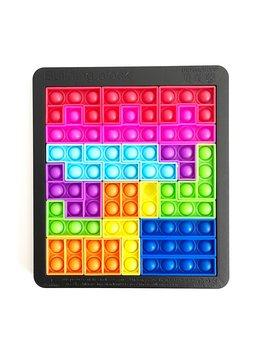L&Y USA Fidget Popper Game Tetris Block