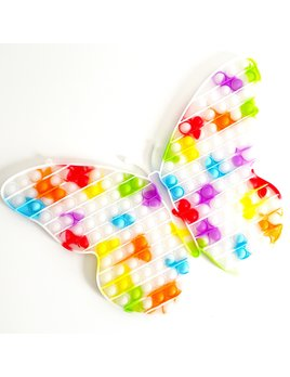 L&Y USA Sun Color Changing Butterfly Fidget Popper
