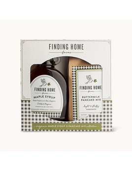 Finding Home Farms Maple Syrup & Pancake Mix Gift Set