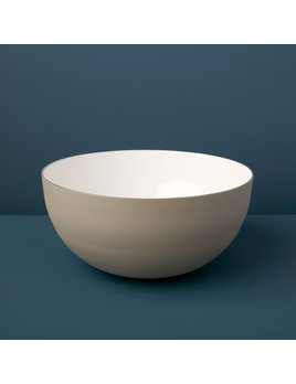 Be Home Dove Aluminum & Enamel Bowl, Large
