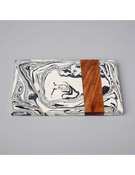 Be Home Zebra Marble & Wood Board