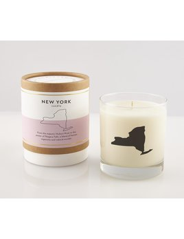 Scripted Fragrance New York Soy Candle - Reusable Signature Glass