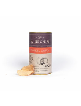 Wine Chips 3 oz Wine Chips Tubes - Smoked Gouda