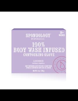 Spongelle Lavender Spongology Body Contouring Buffer
