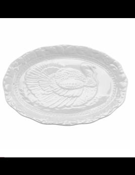 Harold Import Company Turkey Platter