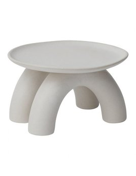 Accent Decor Echo Footed Saucer