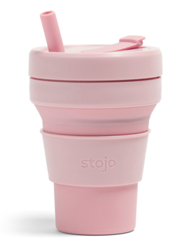Stojo 16oz Collapsible Cup - Carnation