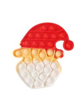 JSBlue Ridge Santa Head Push Pop Bubble Fidget Toy