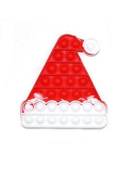 JSBlue Ridge Santa Hat Push Pop Bubble Fidget Toy
