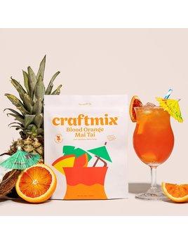 Craftmix Blood Orange Mai Tai Cocktail Mixer 12 Pack