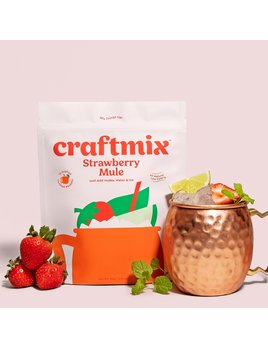 Craftmix Strawberry Mule Cocktail Mixer 12 Pack