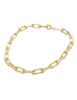 """Maya J 18"""" Oversized Paper Clip Necklace"""