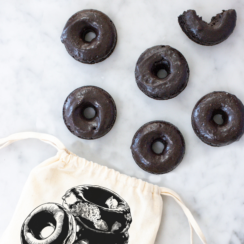 Farm Steady Chocolate Glazed Doughnut Baking Mix in Bag