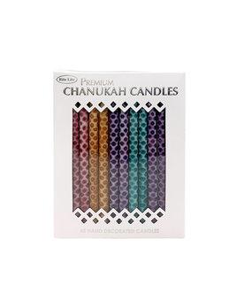 Rite Lite LTD. Premium Chanukah Candles Hand Crafted - Multicolor