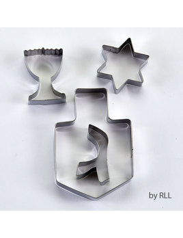 Rite Lite LTD. Chanukah Cookie Cutters - Stainless 4 Shapes