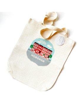 Rock Scissor Paper Tote Bag - Brownstones Hoboken