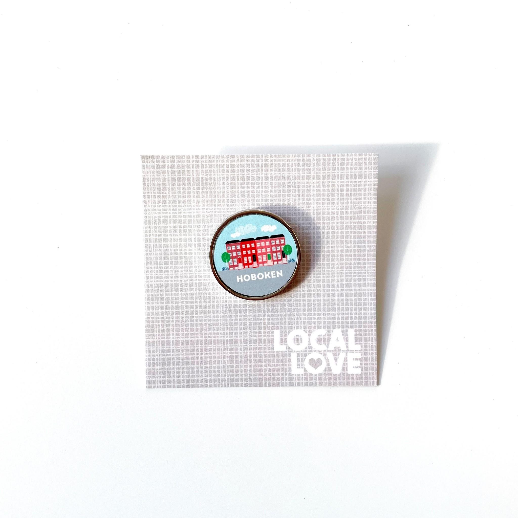 Rock Scissor Paper Pin - Brownstones Hoboken