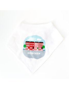 Rock Scissor Paper Baby Bib - Brownstones Hoboken