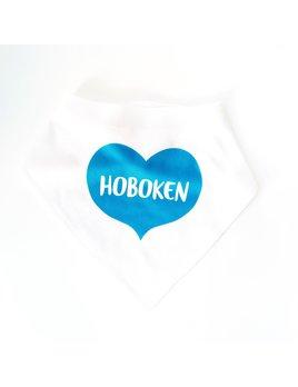 Rock Scissor Paper Baby Bib - Big Heart Ocean - Hoboken
